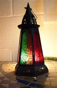 Moroccan Candle Lantern - CL12 Multi
