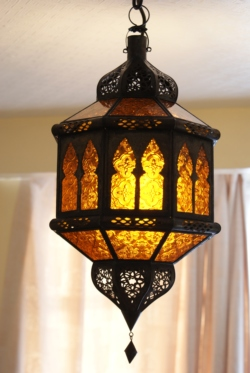 Moroccan ceiling lanterns lampshades lighting pendant lights hanging moroccan lantern ml11 amber mozeypictures Image collections
