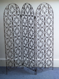 traditional fretwork design moroccan iron screen