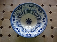 moroccan ceramic bowl.