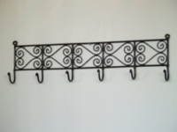 Moroccan Iron Coat Rack Hook - CHR6