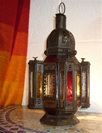 Moroccan Candle Lantern - CL15 Multi