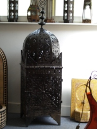 Large Moroccan Metal Lantern - CL16C