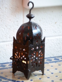 Moroccan Iron Candle Holder - CL25A