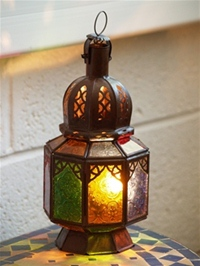 Moroccan Candle Lantern - CL28 - Multi