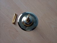 lantern ceiling hook plate in a gold colour finish.