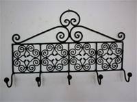 moroccan iron coat rack hook