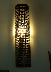 Moroccan Iron Wall Lamp Shade - IWL16