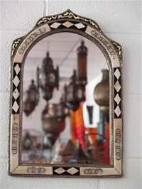 Moroccan Mirror - MD3 White3