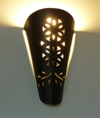 Moroccan Iron Wall Lamp Shade - IWL4