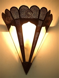 Moroccan Glass Wall Lamp Shades - WGL6M