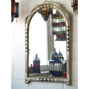 Moroccan Mirror - MD3 White1