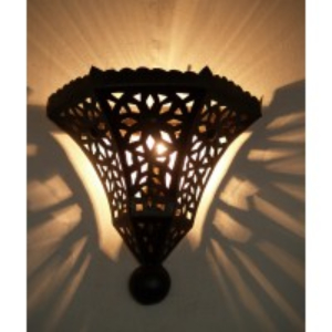 Moroccan Metal Wall Lightshade - IWL28