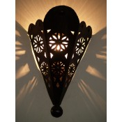 Moroccan Metal Wall Lamp Shade - IWL31