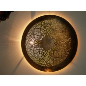 moroccan antique brass wall light shade