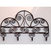 Moroccan Metal Coat Hook Rack - CHR10