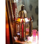 moroccan candle lantern - cl19