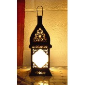 Moroccan Candle Lantern - CL1 Frosted
