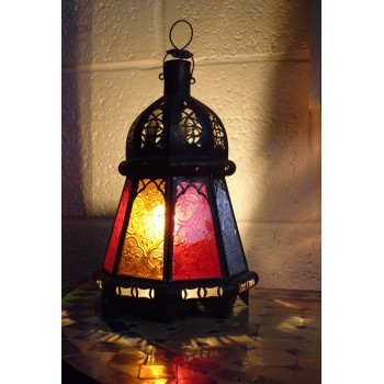 Moroccan Candle Lantern - CL23 Multi