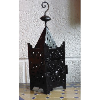 Moroccan Iron Candle Holder - CL45B