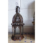Moroccan Candle Lantern - CL5 Clear