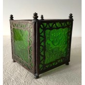 Moroccan Candle Lantern - CL6 Green