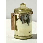 Sweet Vanilla Scented Candle in Gold Coloured Holder