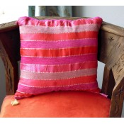 moroccan cushion - pink,