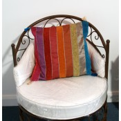 moroccan cushion - purple 1