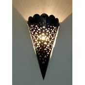 moroccan metal wall light lampshade