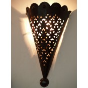 Moroccan Metal Wall Lamp Shade - IWL25
