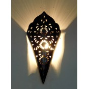 moroccan iron wall light lampshade