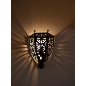 moroccan metal wall lampshade