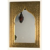 Moroccan Brass Mosque Mirror