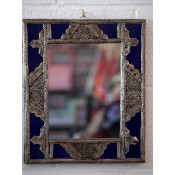 Moroccan Mirror - MD2 Blue