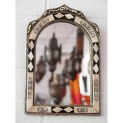 Moroccan Mirror - MD3S White