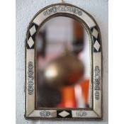 Moroccan Mirror - MD9 White