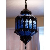 Moroccan Lantern - ML11 Blue