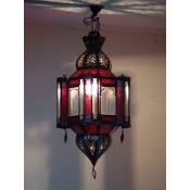 Moroccan Lantern - ML15 Red - Clearance