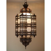 Moroccan Lantern - ML18 Frosted