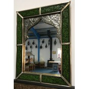 Moroccan Mirror - MD17 Green