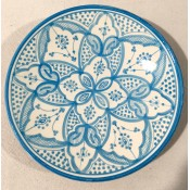 moroccan ceramic safi side plate