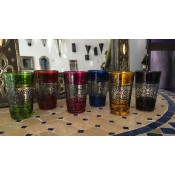 Moroccan Tea Glasses - Mixed 7