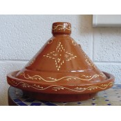 genuine handmade moroccan tagine from tangier.