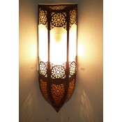 Moroccan Glass Wall Lamp - WGL7 Frosted