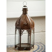 Moroccan Candle Lantern - CL43 Clear