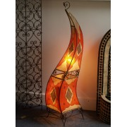Moroccan Henna Lamps   Amber Or Yellow